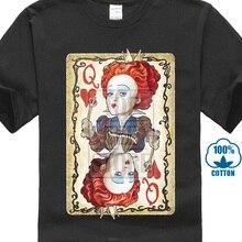 8d18bf111e6 Funny Womens Queen Of Hearts Poker T Shirt Generic T Shirt 3D Men Hot Cheap  Short