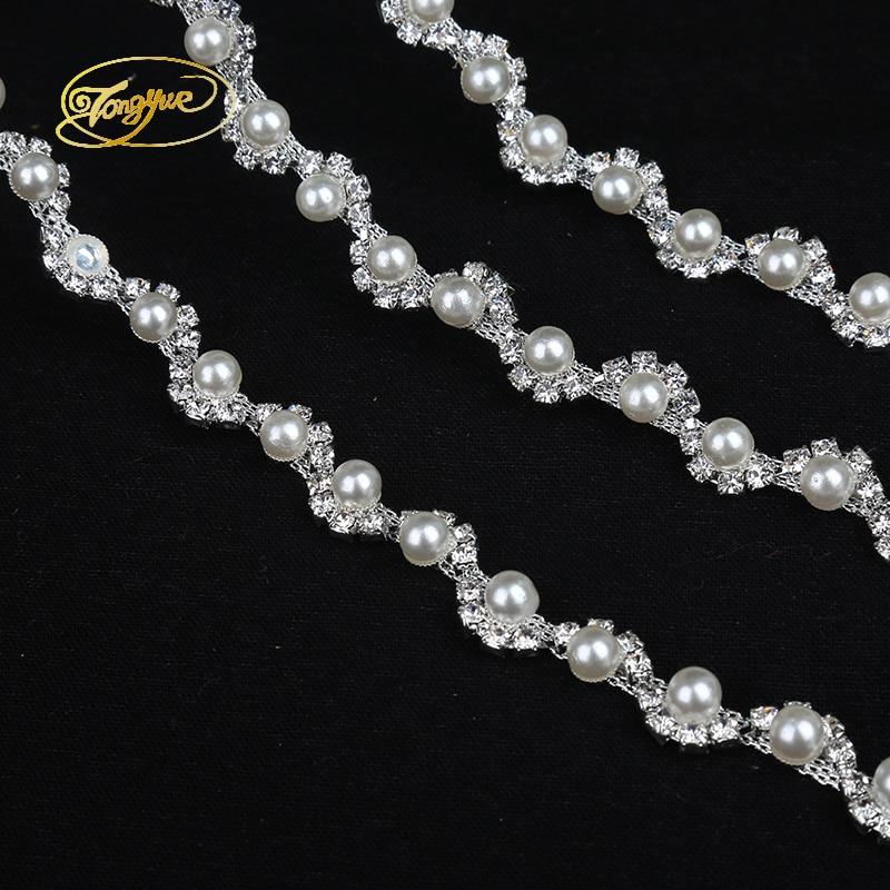 1 Yd legure lanac biser osnovni odjeća ukras ukras srebro ukras DIY - Umjetnost, obrt i šivanje - Foto 5