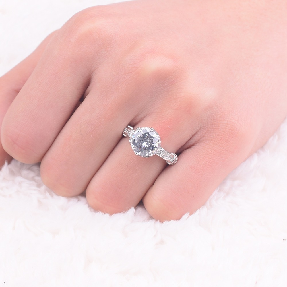 Promotion!!! Real Solid 100% 925 Sterling Silver Lotus flower Rings ...