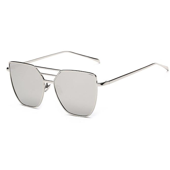 Flat Top Rose Gold Muškarci Ženska ogledala Sunčane naočale Modni - Pribor za odjeću - Foto 4