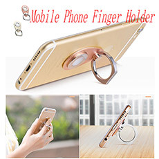 mobile phone finger holder car magnetic holder set 2