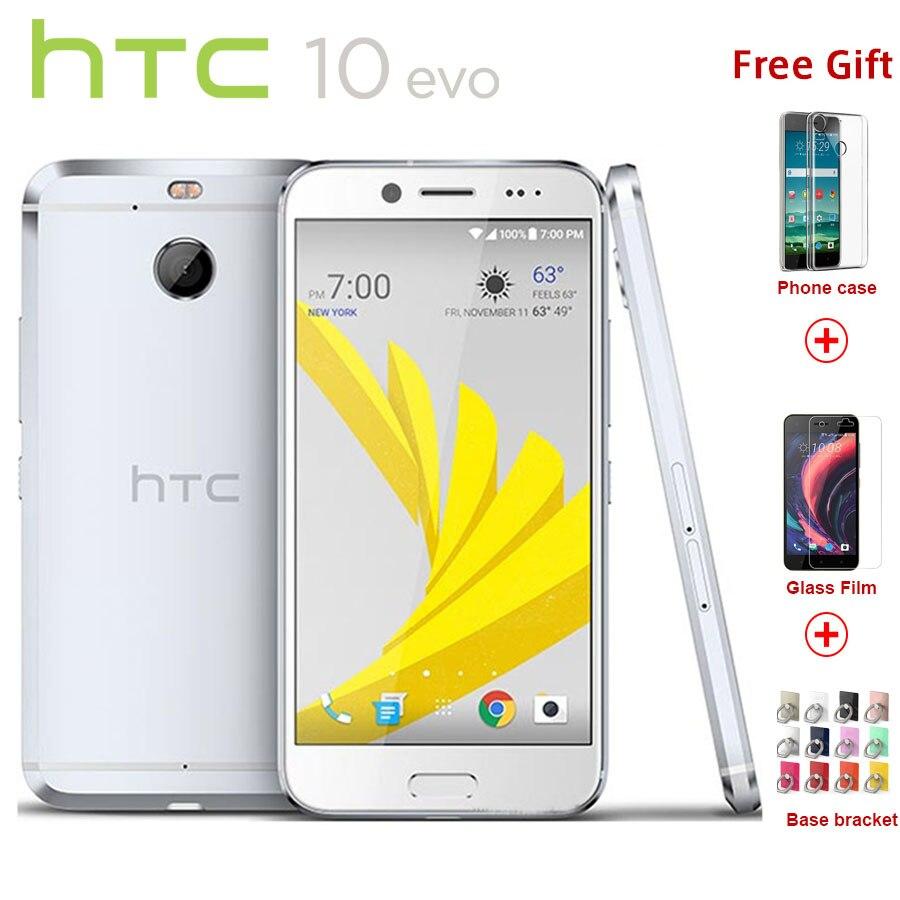 Оригинальный htc 10 EVO 4G LTE 5,5 дюймов мобильный телефон 3 ГБ Оперативная память 32 ГБ/6 4G B Встроенная память Snapdragon 810 16MP Android 7,0 смартфон с отпечатка