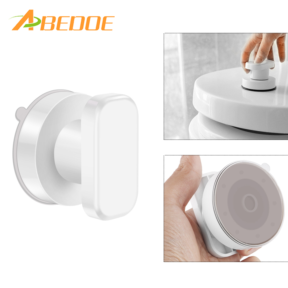 ABEDOE Strong Suction Cup Drawer Glass Mirror Wall Handles Toilet ...