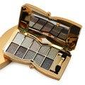 Alta Calidad 10 Del Diamante Del Color Brillante Glitter Nake Maquillaje de Sombra de Ojos Paleta de Maquillaje de Sombra de Ojos Maquillaje Cosmético Con El Cepillo 555 #
