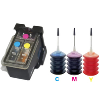 Compatible refillable ink cartridges replace For Canon CL41 CL 41 iP1600 / IP1700 / IP1800 PG 40 CL41 MP140 MP450 MP470 printer