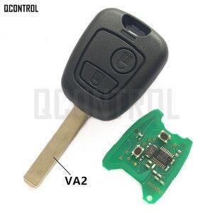 Image 1 - QCONTROL Auto Türschloss Funkschlüssel Anzug für CITROEN C2, C3 Pluriel 2003 2006, 2 Tasten