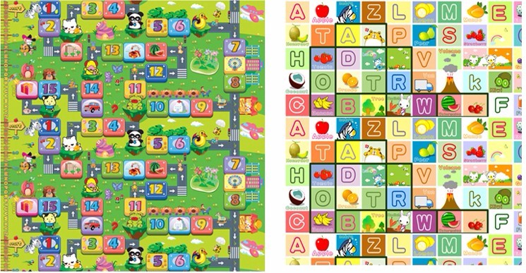 Zillionaire+Fruit Letters