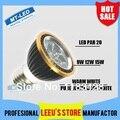 O envio gratuito de Alta potência CREE Led Lâmpada PAR20 Dimmable E27 GU10 9 W 12 W 15 W 110-240 V spot lâmpada bulb Spotlight PAR 20 iluminação downlight