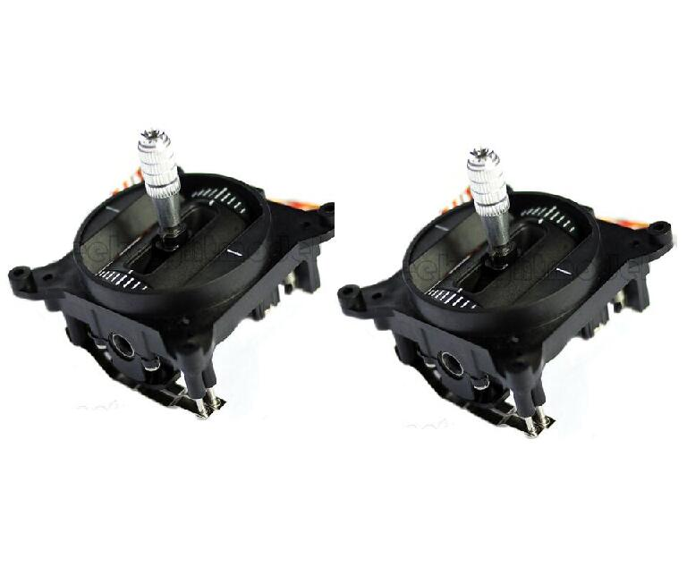 Free Shipping 1pair FrSky Taranis X9D Plus Gimbal Remote controllor rocker Black spare parts