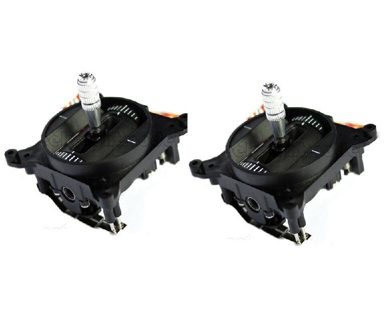 จัดส่งฟรี 1 คู่ FrSky Taranis X9D Plus Gimbal รีโมทคอนโทรล rocker สีดำอะไหล่-ใน ชิ้นส่วนและอุปกรณ์เสริม จาก ของเล่นและงานอดิเรก บน   1