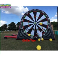 Inflatable Football Darts Outdoor Soccer Darts Game,Inflatable Dart Board For Sale ,Inflatable Foot Darts For Sale With Soccer