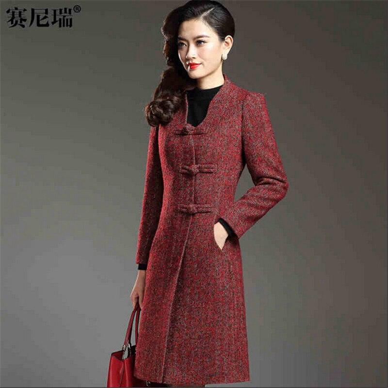 Popular Slim Wool Coat Dress-Buy Cheap Slim Wool Coat Dress lots ...