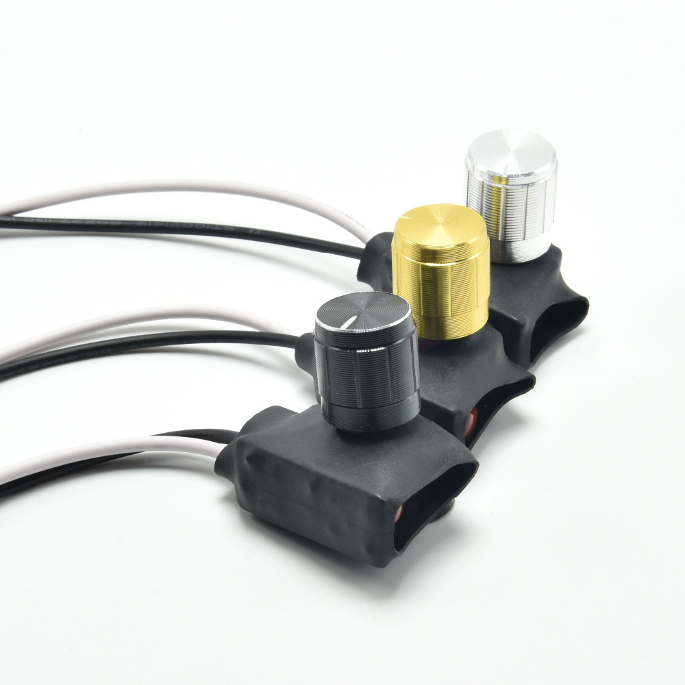 3pcs Lot Lamp Knob Switch Dimmer Floor Light Table Dimming Wiring A To 2pcs 3a Lighting Accessories