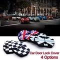 2 pcs Mini Cooper Clubman roadster coupe carbio R55 R56 R57 R58 R59 porta Do Carro porta fivela trava da tampa resistente à ferrugem union jack