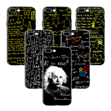 ФОТО minason e=mc2 fractal math chemical physical equation abstract art sign silicone phone case for iphone x 5s 6 6s 7 8 plus cover