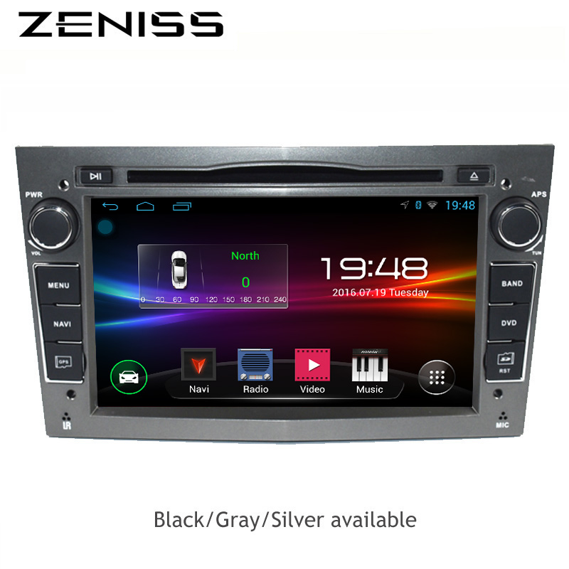 ZENISS 2din 7inch AndroidCar DVD GPS for Opel Radio Navigation 1024*600 for Astra Vectra Antara Zafira Corsa Car GPS Radio