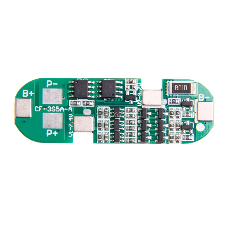3S 6A Polymer Lithium Battery Charger Protection Board Module For 18650 Li-ion Z17 Drop ship aiyima 2pc 4s 14 8v 12a li ion lithium battery bms 18650 charger protection board module 16 8v overcharge over short circuit