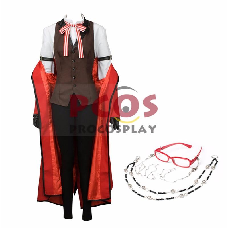 Black Butler-Kuroshitsuji Grell Sutcliff Cosplay Costume