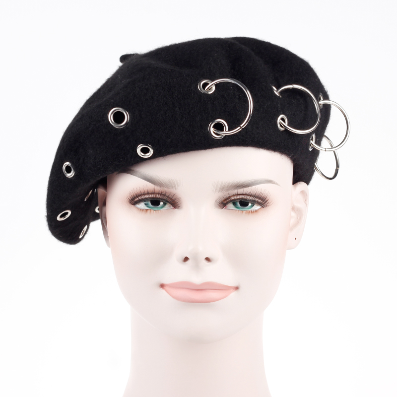 b02eeeff5f263 Buy ringed beret and get free shipping on AliExpress.com