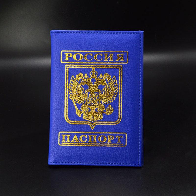 Cubierta para pasaporte de viaje Rusia, pasaporte ruso, estuche para - Monederos y carteras