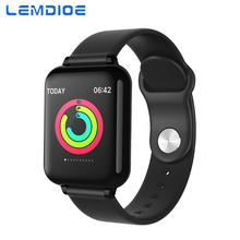 LEMDIOE smart watch android Heart Rate Blood Pressure Monitoring Call Message Reminder Waterproof Fitness Tracker for Men Women
