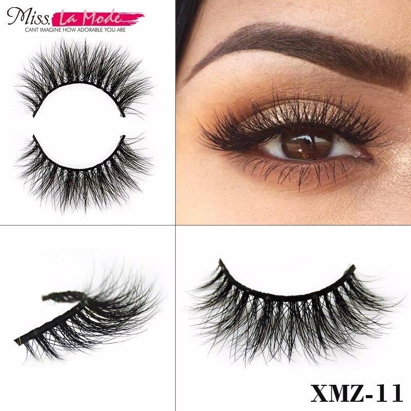 Misslamode Real Mink Natural Eyelashes Fake False ...
