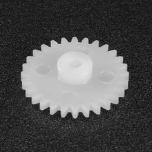 Uxcell 50Pcs 20/22/24/26/28 Teeth 2mm Hole Diameter Plastic Gear 202/222/242/262/282A Toy Accessories for DIY Car Robot Motor цены онлайн