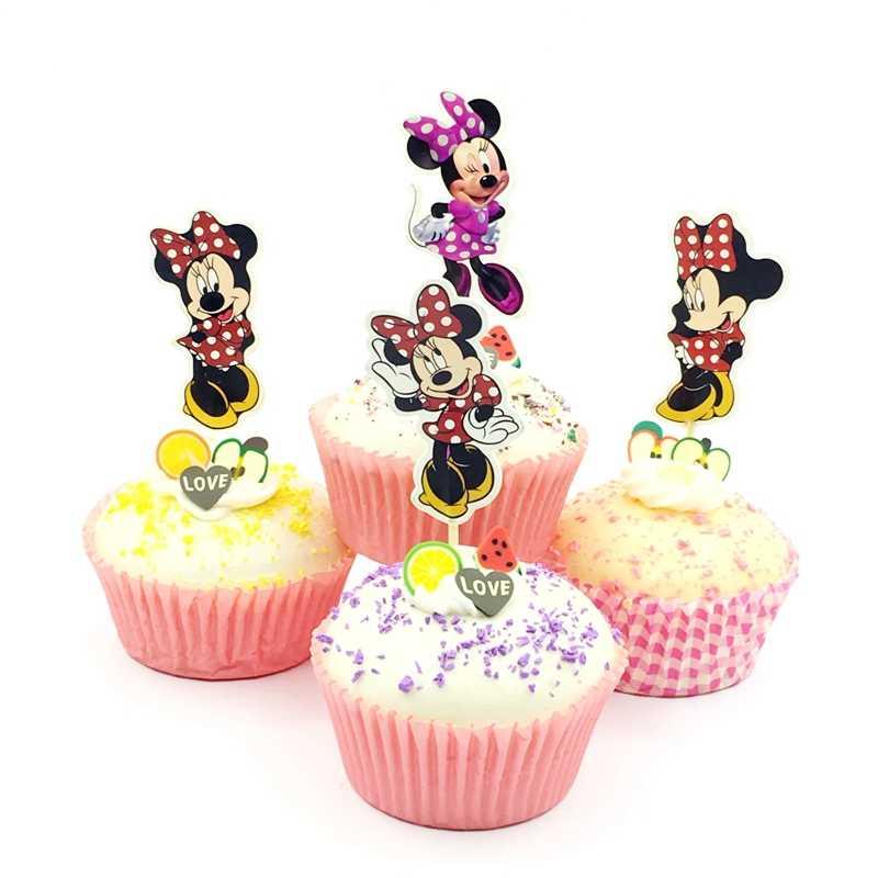 24 pçs/lote Balé Vestido Da Menina de Bolo Topper Cupcake Decoração Do Chuveiro Do Bebê Favor Do Casamento Da Festa de Aniversário Crianças Suprimentos Bailarina Topo