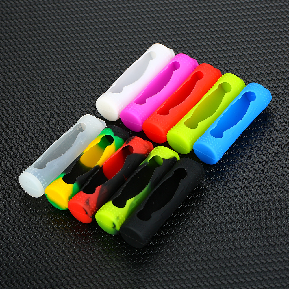 5pcs Silicone Case Protective Cover for 20700/<font><b>21700</b></font> <font><b>Battery</b></font> e-Cigs <font><b>Battery</b></font> Rubber <font><b>Sleeve</b></font> Protection Holder Pack Vape Accessories image