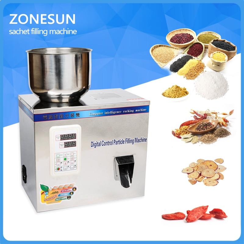1-50g tea Packaging machine, sachet filling machine, can filling machine,granule medlar automatic weighing machine powder filler  granule seed tea filling machine