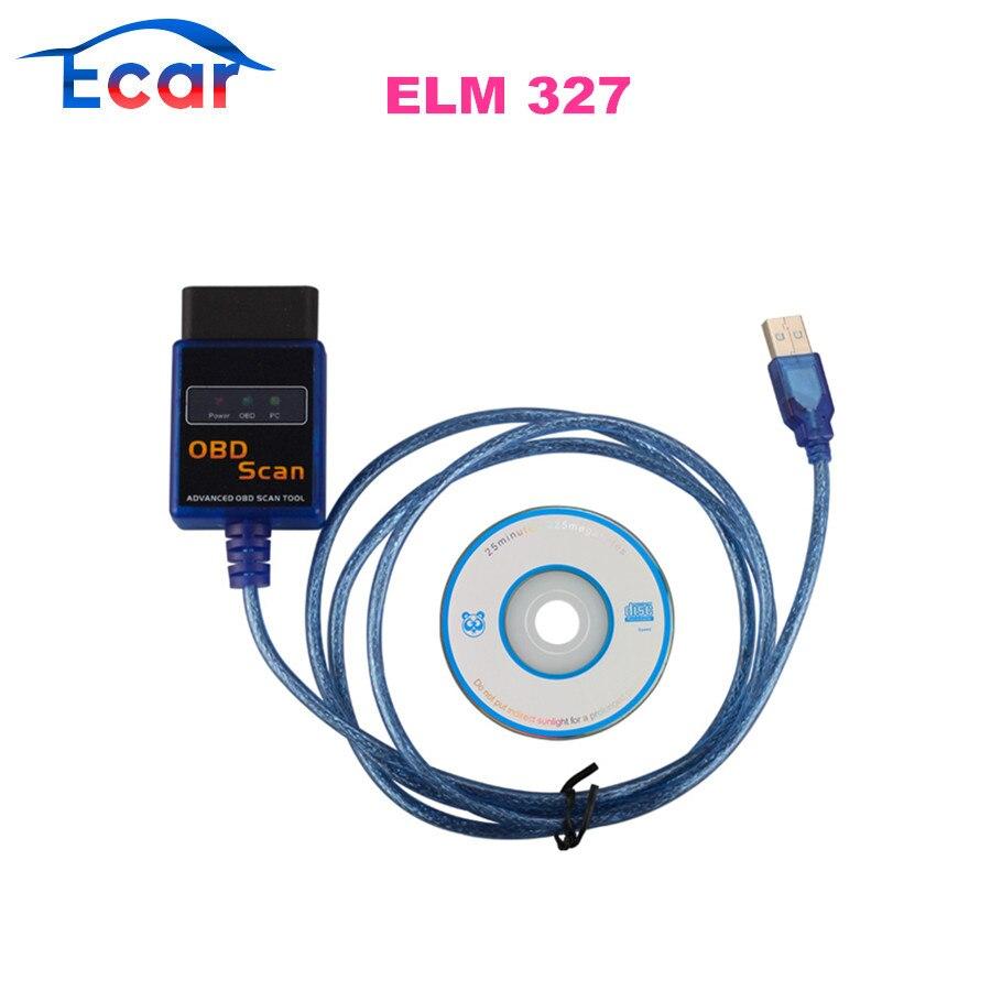 Prix pour ELM327 Plastique OBDII EOBD CANBUS Scanner Matériel V1.5 avec 2102 Puce
