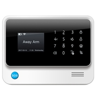 MOOL G90B Gsm Alarm System App Remote Control Smart Home Smart Wifi Alarm System Security