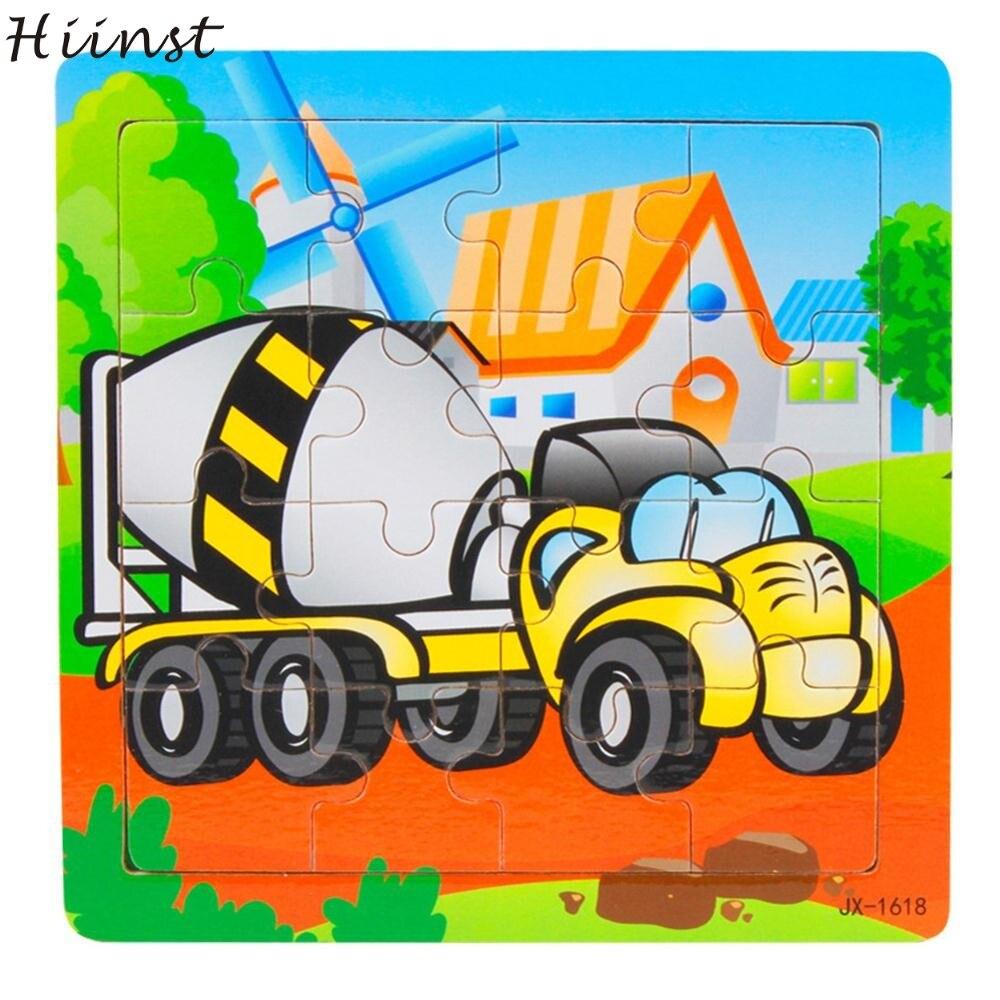 Hiinst Speelgoed Kids 2017 Houten Kids Stuk Jigsaw Speelgoed Speciale Auto Stijl Speelgoed Groothandel * R Drop