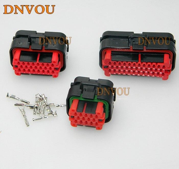 1set ECU plug 35 pin ECU 776164 automotive connector 770680-1 776273-1 Electrical Wire connector Plug free shipping 1set auto 81pin ecu connector 368376 1 electrical ecu plug 1j0906385c 1j0 906 385c wire harness