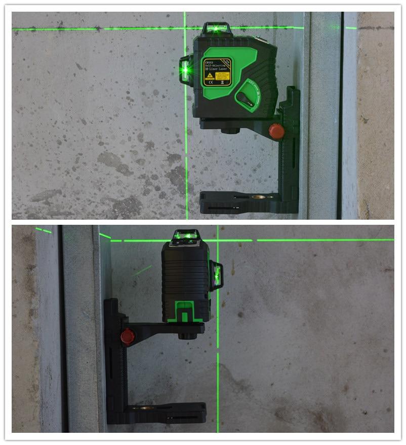 Fine super strong magnet pulls L-bracket leveling support for universal Laser level bracket