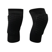 1 Pcs Sports Gear Increase Cellular Anti-collision Knee To Protect The Calf Basketball Hip