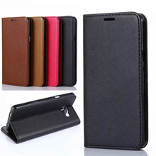 Flip Leather Mobile Phone Case For Samsung Galaxy Wallet Cover Case for Samsung Galaxy A5 2016 A5100 A5108 A510f  With Card Slot