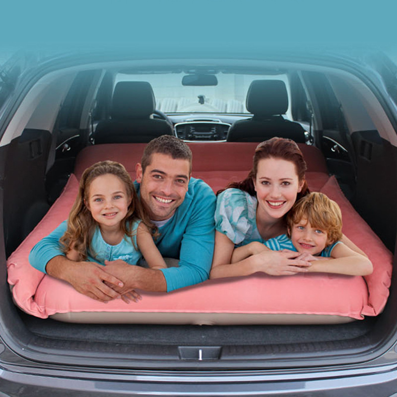 SUV car inflatable bed car travel inflatable bed car bed self-driving mattress camping bed tent mat car air mattress travel bed car back seat cover inflatable mattress air bed good quality inflatable car bed for camping khaki