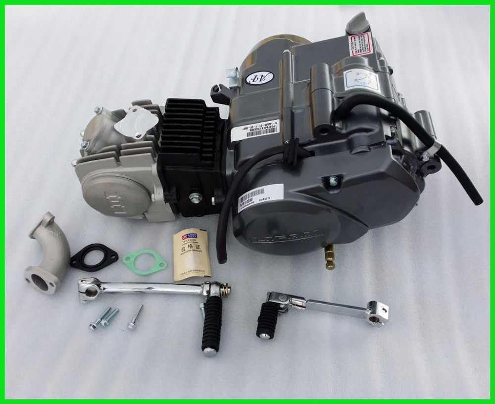 medium resolution of 125cc lifan engine 4 stroke kick start manual clutch dirt bike motorbike