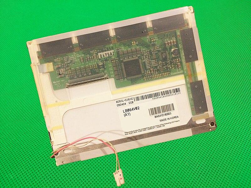 Original 6 4 inch LCD screen for LB064V02 A1 LB064V02 A1 industrial LCD display screen panel
