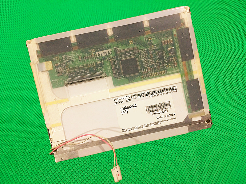 Original 6.4 inch LCD screen for LB064V02(A1) LB064V02-A1 industrial LCD display screen panel Repair replacement Free Shipping 10 4 inch screen panel for auo g104vn01 v 0 g104vn01 v0 for industrial application control equipment lcd display free shipping