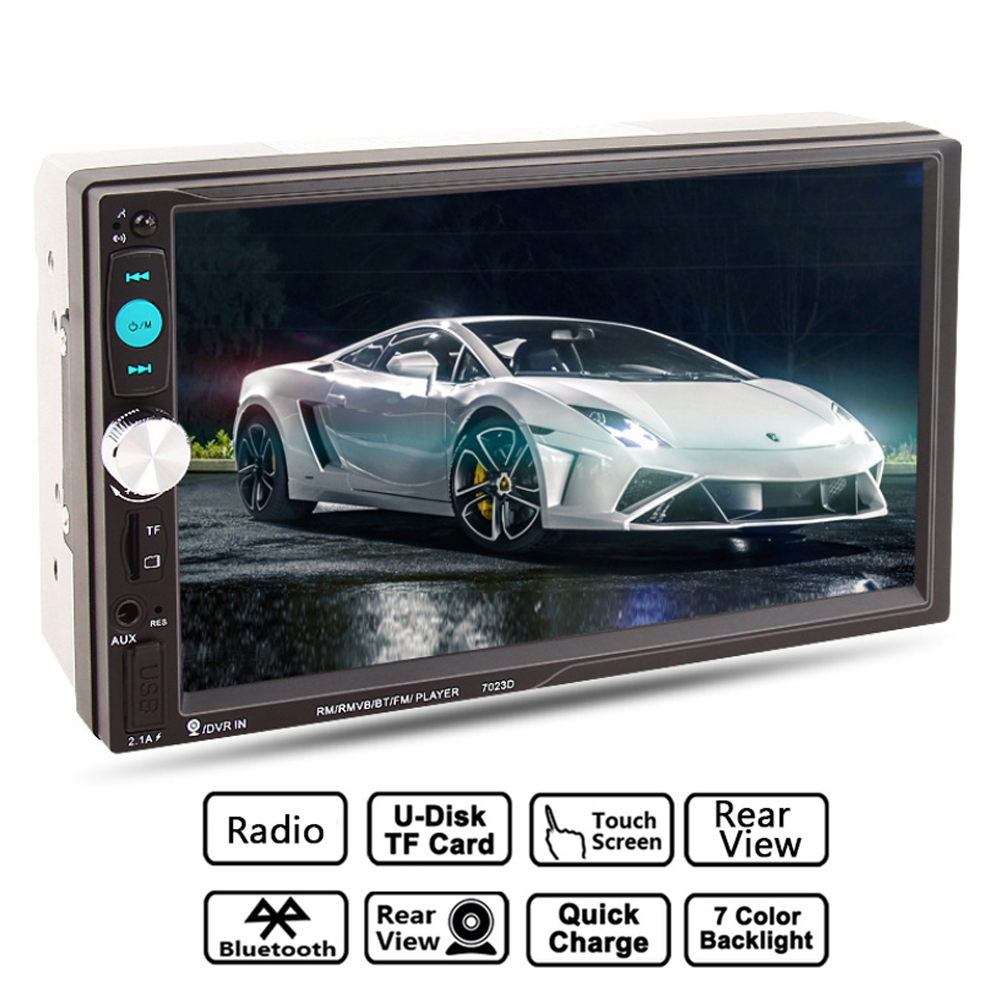 GUBANG 2DIN 7 quot Car MP5 HD Player SD Card Reader Radio Car Stereo Audio MP5 Player Fast Charger Reversing Camera in Car MP4 amp MP5 Players from Automobiles amp Motorcycles