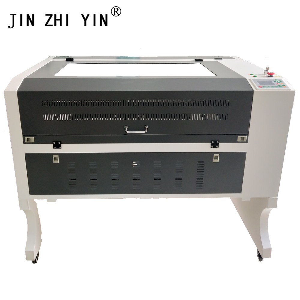 60W New Laser Engraving Machine CO2 6090 Ruida Controller Multiple Languages Laser Engraver