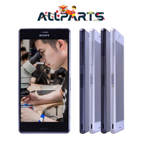 100 Original Real Size 5 2 Inch IPS 1920x1080 LCD For SONY Xperia Z3 Display Touch