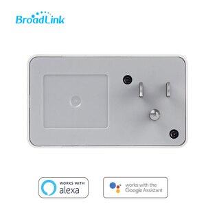 Image 4 - Broadlink SP3, enchufe inteligente, interruptor UE, temporizador, controlador doméstico inteligente, Control WiFi, enchufe inalámbrico para ALexa Google