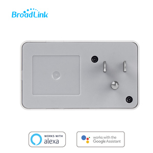 Image 4 - Broadlink sp3 tomada inteligente interruptor do temporizador da ue casa inteligente controlador wi fi controle sem fio tomada de energia para alexa google