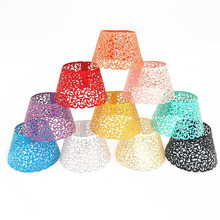 50pcs Little Vine Lace Laser Cut Cupcake Wrapper Liner Baking Cup For Baby Shower Wedding Birthday Christmas Party Decorations