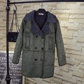 Winter Style Women Suede Parkas Plus Size 3XL 4XL 5XL Casual Turn-down Collar Double Breasted Warm Thick Long Parka Coat QYL138