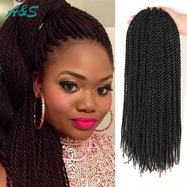 Crochet Senegalese Thin Hair