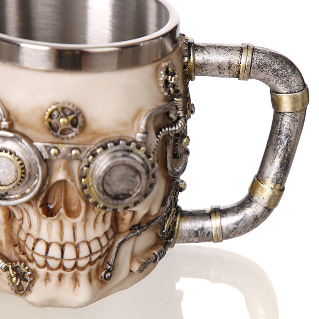 420ML VIKING SKULL SKELETON MUG